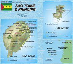 Ilha São Tomé e Príncipe - Pesquisa Google