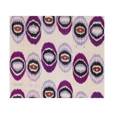 Grape Jam Ikat Fabric