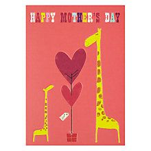 Buy Giraffe Happy Mother's Day Card Online at johnlewis.com