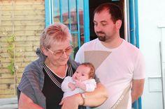 S babičkou a tatínkem
