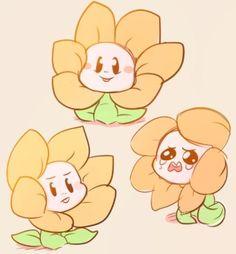Flowey is supposed to be creepy not cute aww Undertale Flowey, Undertale Fanart, Undertale Comic, Illustration Kawaii, Flowey The Flower, Chibi, Loli Kawaii, Kawaii Girl, Undertale Pictures