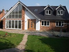 large chalet bungalow extension house remodelling marlow
