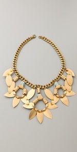 lulu frost triple pipeline necklace