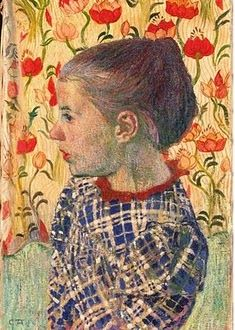 Cuno Amiet (1868 – 1961) was a Swiss painter, illustrator, graphic artist and sculptor (1900)
