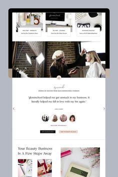 Showit website design and inspiration. #ShowitWebsiteDesign