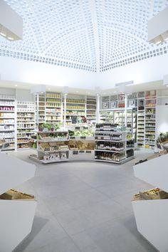 Bio Design, Cafe Design, Store Design, Online To Offline, Retail Facade, Supermarket Design, Archi Design, Retail Concepts, Shop Fittings
