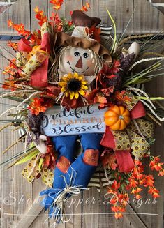 DIY Halloween Wreaths Ideas – Cute Outdoor Halloween Decorations - Decorating Ideas - Home Decor Ideas and Tips Fall Door Decorations, Fall Decor, Halloween Decorations, Halloween Wreaths, Seasonal Decor, Deco Mesh Wreaths, Holiday Wreaths, Door Wreaths, Scarecrow Wreath