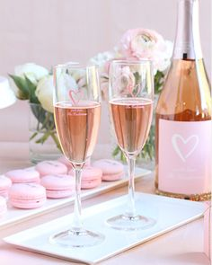 Toast to your love with personalized champagne flutes | 2017 Summer Wedding Lookbook