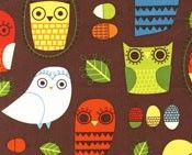Nutty Owls Retro - Critter Community by Suzy Ultman/Robert Kaufman Owl Patterns, Fabric Patterns, Print Patterns, Owl Fabric, Retro Fabric, Cotton Fabric, Novelty Fabric, Owl Always Love You, Thing 1