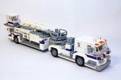 Lego Tiller Lego City Fire Truck, Lego Truck, Lego City Police, Fire Trucks, Big Lego, Lego Fire, Lego City Sets, Lego Ship, Lego Trains
