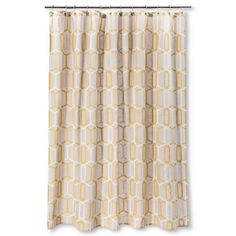Threshold™ Geo Shower Curtain - Yellow
