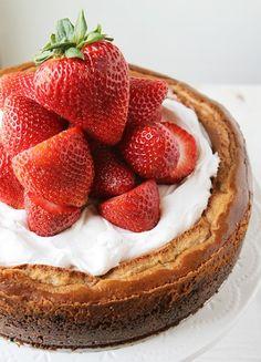 Strawberry-Strawberry Cheesecake!