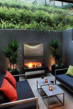 The post 30 Beautiful Small Garden Design for Small Backyard Ideas appeared first on Terrasse ideen. 30 Beautiful Small Garden Design for Small Backyard Ideas Outdoor Retreat, Outdoor Rooms, Outdoor Living, Outdoor Furniture Sets, Outdoor Decor, Furniture Ideas, Outdoor Lounge, Rustic Furniture, Fireplace Furniture