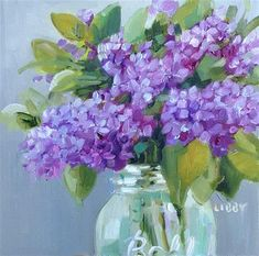 """Daily Paintworks - """"Private Audience"""" - Original Fine Art for Sale - © Libby Anderson"""