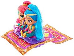 Amazon.com: Fisher-Price Shimmer and Shine  Magic Flying Carpet: Toys & Games