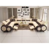 Personalizada de alta calidad hermoso sofá de cuero seccional Sofas, Futuristisches Design, Living Room Sofa Design, Wooden Toys, Couch, Furniture, Home Decor, Products, Leather Couches