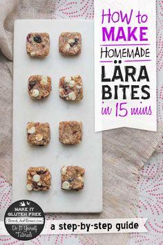 How To Make Homemade Lära Bites and Bars  {Beard and Bonnet} #glutenfree #vegan #projectlunchbox