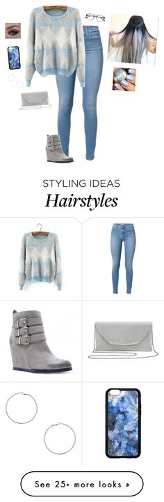 """""""Blue Winter"""" by hanakdudley on Polyvore featuring Qupid, M&Co and Dorothy Perkins"""