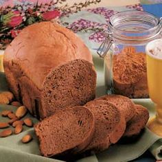 Cocoa Almond Bread Recipe (bread machine)