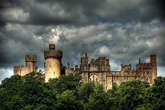 Arundel Castle - http://www.1pic4u.com/blog/2014/09/03/arundel-castle-3/