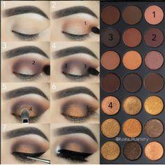 Tutorial de maquillaje de ojod