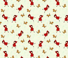 Riding Hood fabric by sugarcookie on Spoonflower - custom fabric