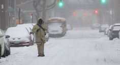 """New York: New York Governor Andrew Cuomo and New York City Mayor Bill de Blasio announced a state of emergency for New York ahead of the arrival of Winter Storm Stella, a nor'easter that's expected to bring heavy snow and strong winds to the tri-state area on Tuesday. """"We're going to..."""