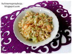 Surówka z białej kapusty Coleslaw