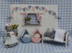Mouse Medical Centre by Tintangel on Etsy, €21.95