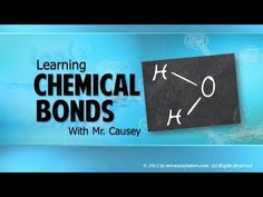 Covalent and Ionic Chemical Bonding - Mr. Causey's Chemistry - YouTube