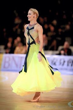 Amazing stoning on this ballroom dress, love the whole dress!