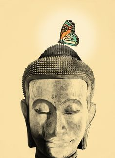 Buddha Series - Tranquil Art Print by Budi Satria Kwan