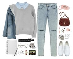 """""""Reply 1988's, Sung Bo Ra Starter Pack/?"""" by nut-and-nude ❤ liked on Polyvore featuring Zara, Coach, Vans, Michele, H&M, J.W. Hulme Co., Rimmel, CB2, NARS Cosmetics and Brunello Cucinelli"""