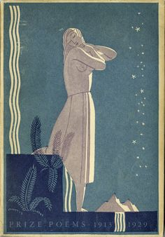 Dust jacket for book of poems - Rockwell Kent More info at the Philadelphia Museum of Art