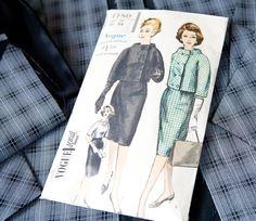 1960s Vogue (4180) Vintage Sewing Pattern #60s #retro #vintage