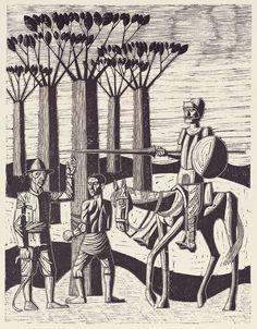 Don Quixote by Julio Castro de la Gándara, 1966