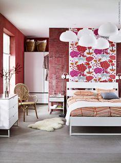 IKEA katalogen 2014. TRYSIL sovrumsserie.