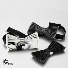 Bow tie - Flat 3D #3D #3Dprint #3Dprinting [more pics on Cults website]