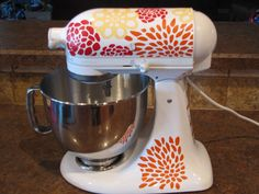 kitchen aid mixer decals