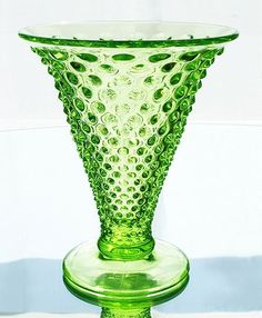 fenton glass vase - using diff colored glass with white orchids - all from my mom's and my glass collections
