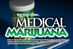 New Study Shows Medical Marijuana Reduces Suicide Rates