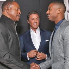 Buzzing: Carl Weathers praises Michael B. Jordan's Creed performance Rocky Balboa, Sylvester Stallone, Rocky Stallone, Andre Luis, Movie Stars, Movie Tv, Rocky Film, Michael Bakari Jordan, Apollo Creed