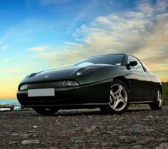 Fiat coupe 20vt in Scots green