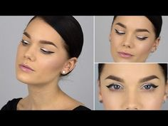Ombre Eyeliner tutorial (with subs) - Linda Hallberg Makeup Tutorials - YouTube