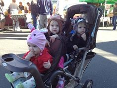 making double strollers work as triple strollers: stroller reviews