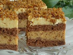 Dessert Cake Recipes, Sweets Recipes, Sweet Desserts, Romanian Desserts, Romanian Food, Good Food, Yummy Food, Food Cakes, Pastry Recipes