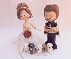 Noivinha amarrando o noivo                                                                                                                                                                                 Mais