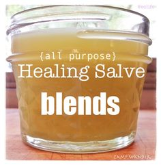 3 NEW All~Purpose Healing Salve BLENDS!