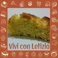 Vivi con Letizia: 50 sfumature di...mela - torta di mele aromatizzata all'ananas