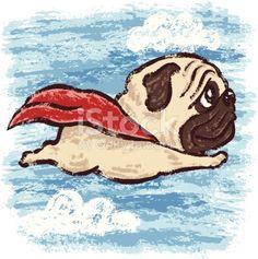 Flying Pug.